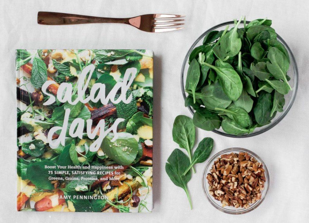 Health benefits spinach salad